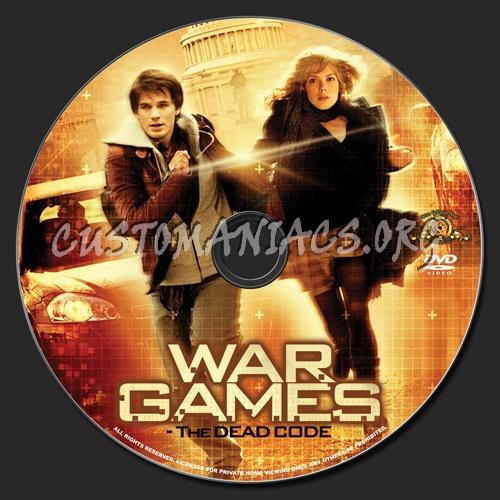 Wargames: The Dead Code dvd label