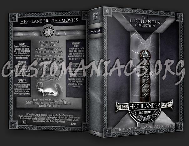 Highlander dvd cover