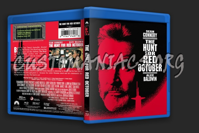 The Hunt for Red October blu-ray cover