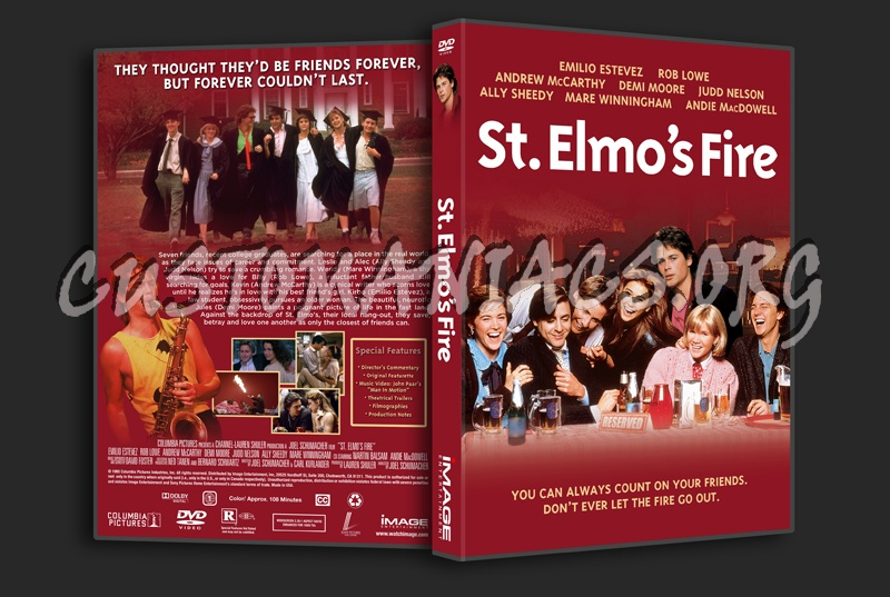St. Elmo\'s Fire dvd cover