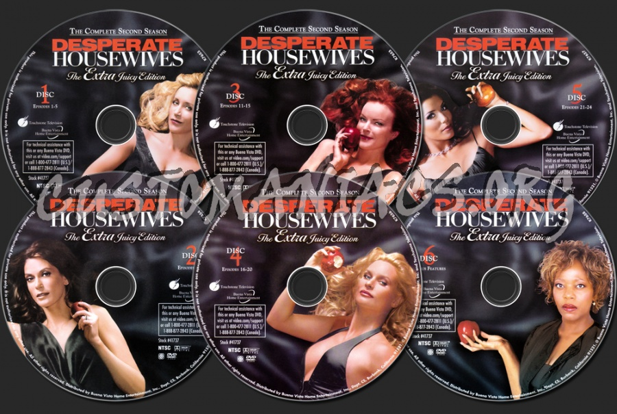 desperate housewives season 2 dvd label dvd covers labels by customaniacs id 43490 free. Black Bedroom Furniture Sets. Home Design Ideas