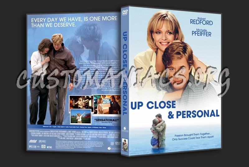 Up Close & Personal dvd cover