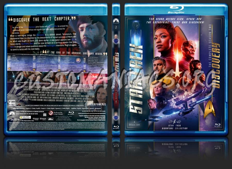 Star Trek Discovery Season 2 blu-ray cover