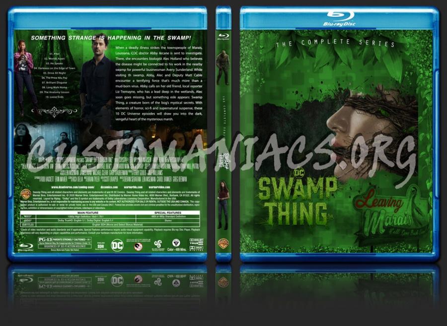 Swamp Thing Season 1 blu-ray cover