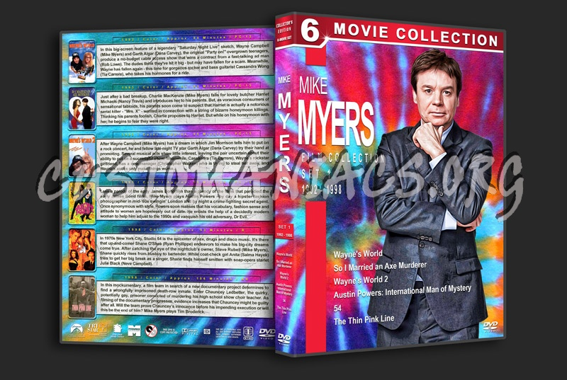 Mike Myers Filmography - Set 1 (1992-1998) dvd cover