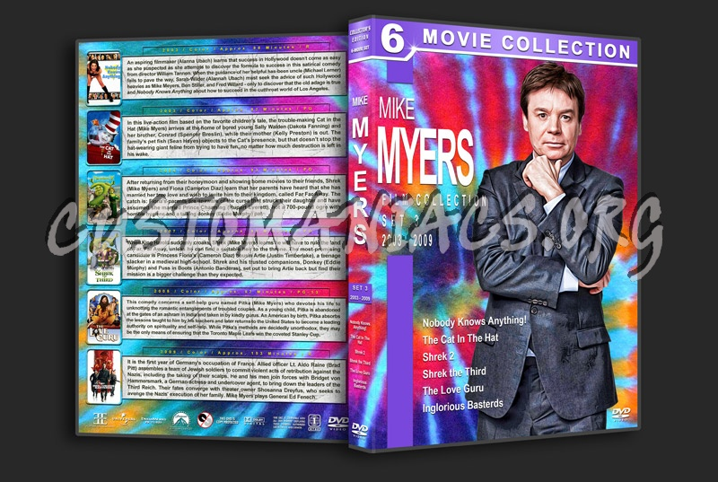 Mike Myers Filmography - Set 3 (2003-2009) dvd cover