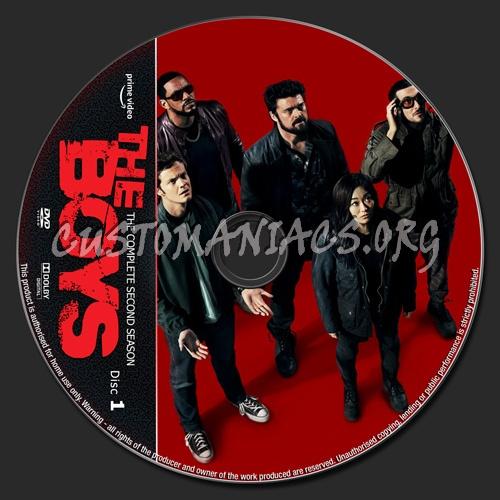 The Boys Season 2 dvd label