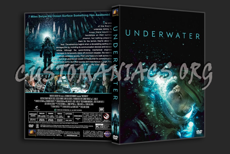 Underwater dvd cover