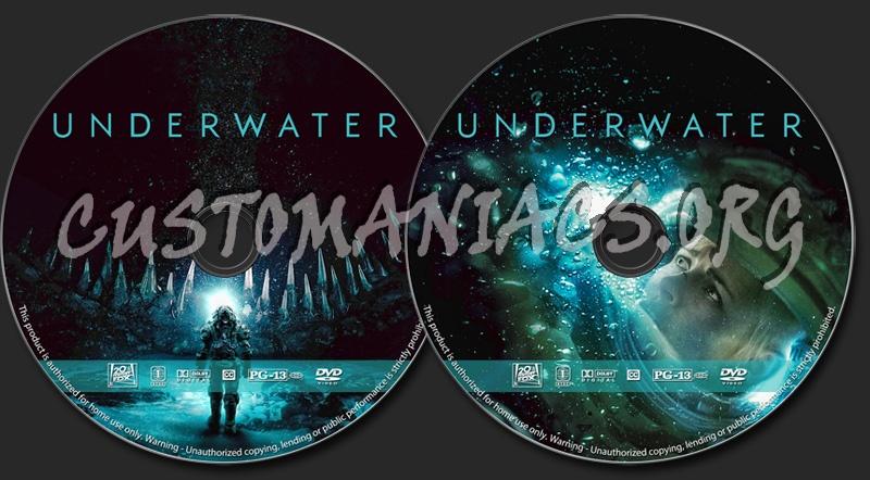 Underwater dvd label