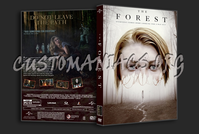 The Forest (2016) dvd cover