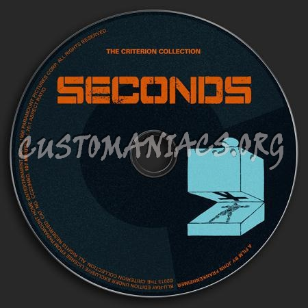 667 - Seconds dvd label