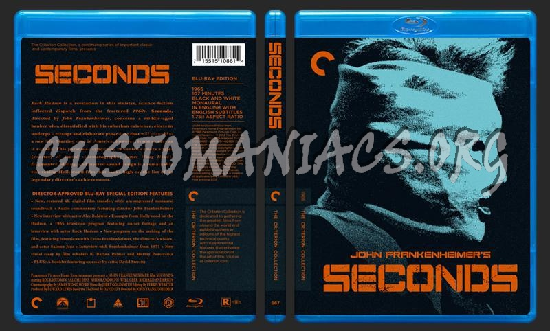 667 - Seconds blu-ray cover