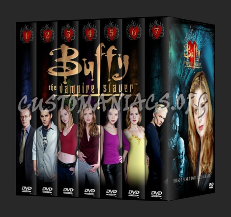Buffy Season 1-7 dvd cover