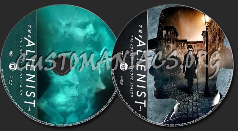 The Alienist Seasons 1-2 dvd label