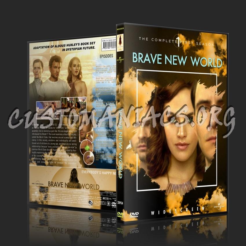 Brave New World (2020) - Season 1 dvd cover