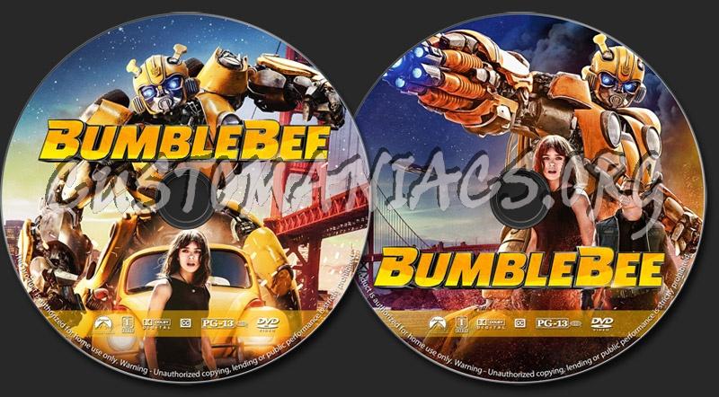 Bumblebee dvd label