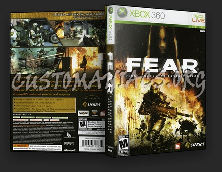 Fear dvd cover