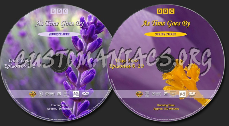 As Time Goes By - Series 3 dvd label