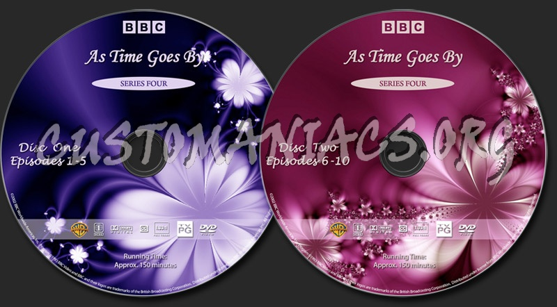 As Time Goes By - Series 4 dvd label