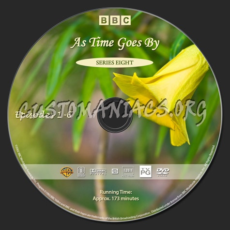 As Time Goes By - Series 8 dvd label