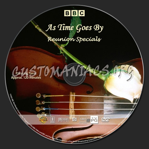 As Time Goes By - Reunion Specials dvd label