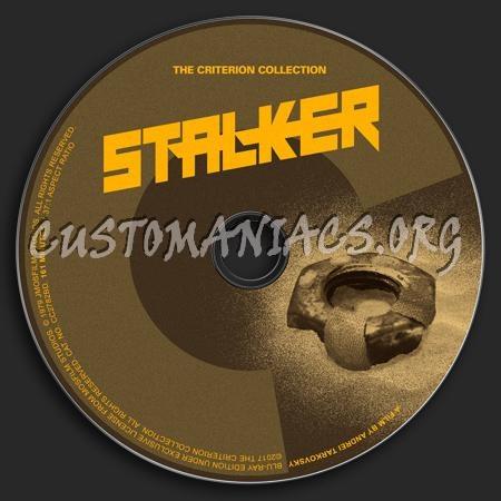 888 - Stalker dvd label