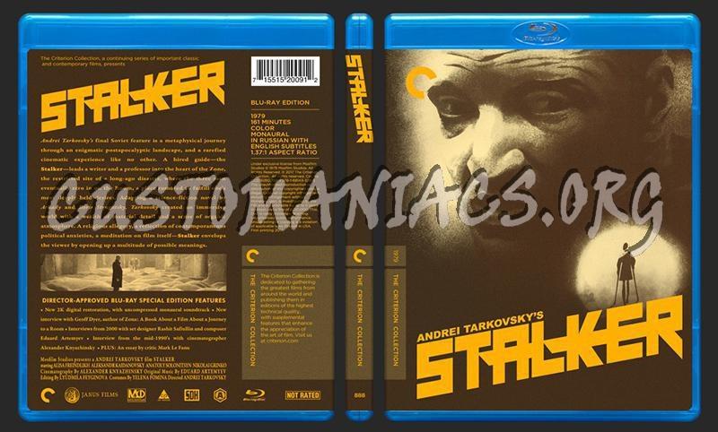 888 - Stalker blu-ray cover