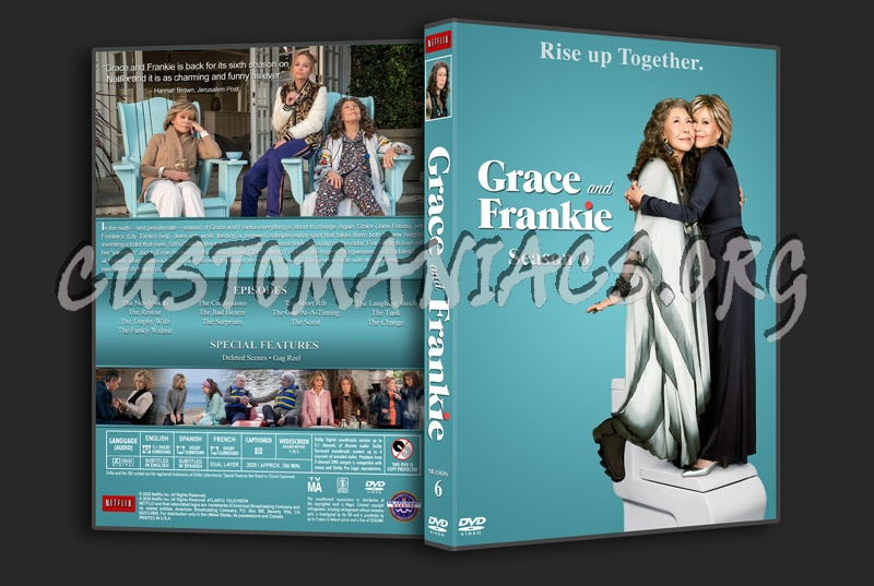 Grace and Frankie - Season 6 dvd cover
