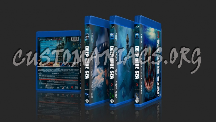 Deep Blue Sea 2 (2018) blu-ray cover