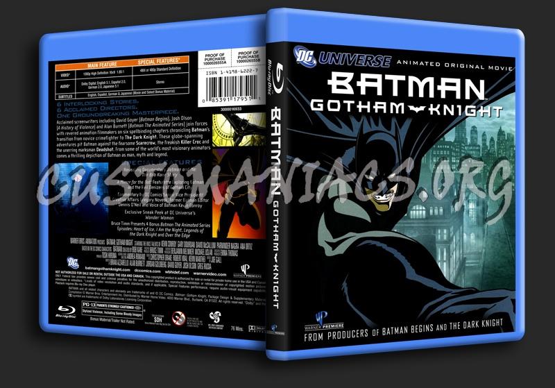 Batman: Gotham Knight blu-ray cover