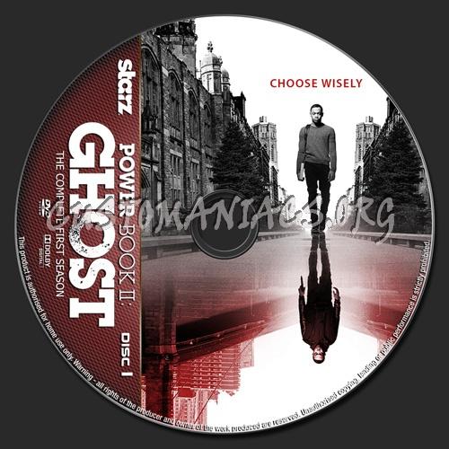 Power Book II:Ghost Season 1 dvd label
