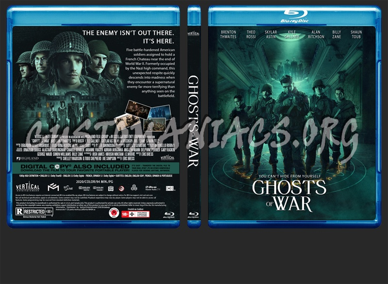 Ghosts Of War blu-ray cover