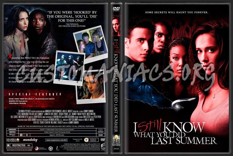I Still Know What You Did Last Summer dvd cover