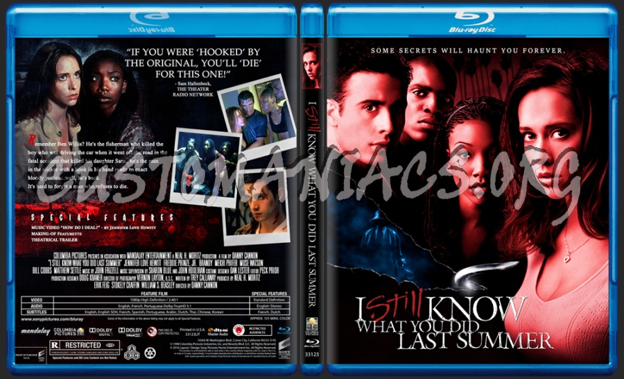 I Still Know What You Did Last Summer blu-ray cover