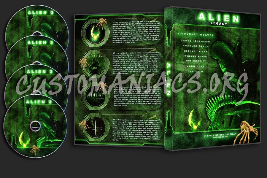Alien Legacy dvd cover