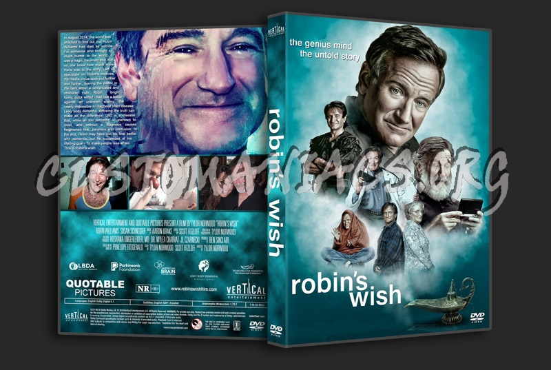 Robin's Wish dvd cover