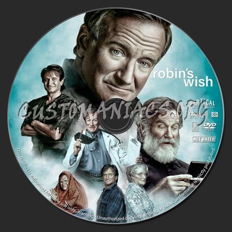 Robin's Wish dvd label