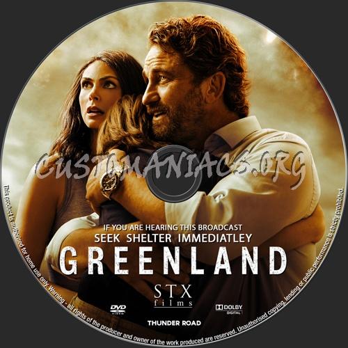 Greenland dvd label