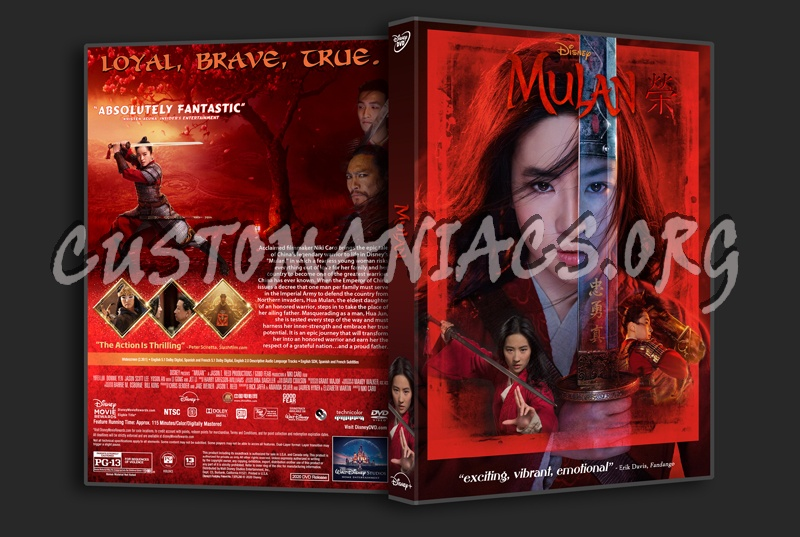 Mulan 2020 Dvd Cover Dvd Covers Labels By Customaniacs Id 266173 Free Download Highres Dvd Cover