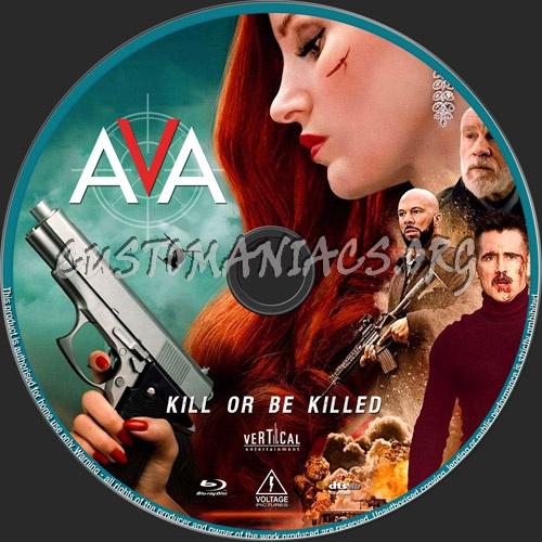 Ava blu-ray label