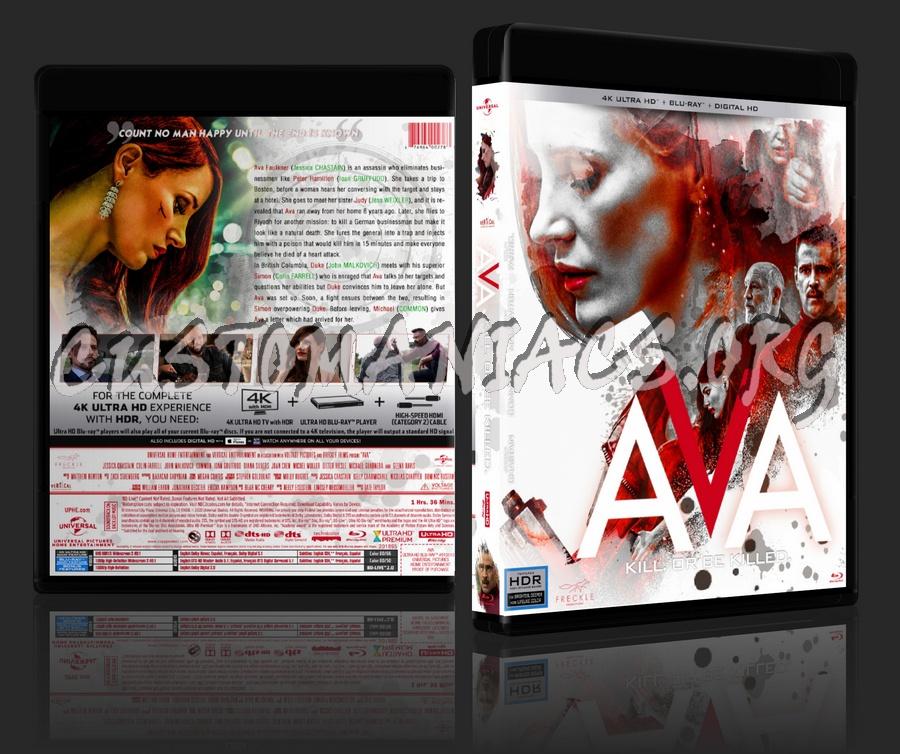 Ava (2020) - 4K dvd cover