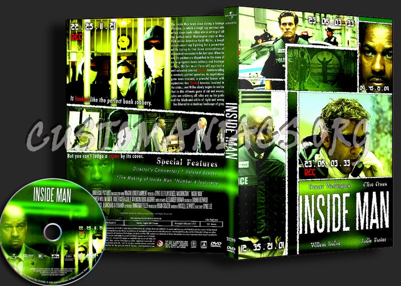Inside Man dvd cover