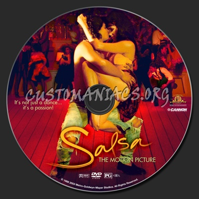 Salsa (1988) dvd label
