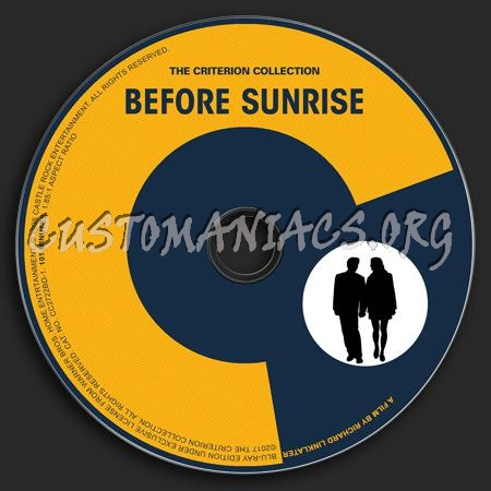 857 - Before Sunrise dvd label