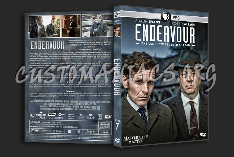 Endeavour - Series 7 dvd cover
