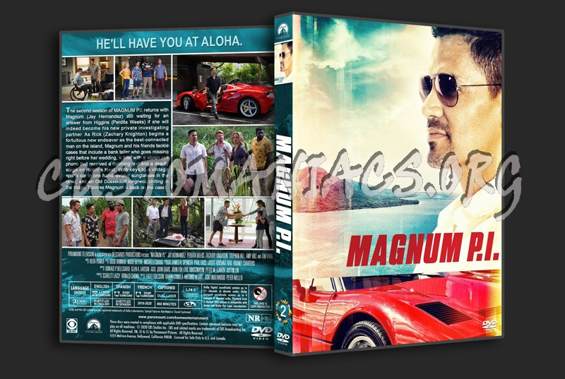 Magnum P.I. - Season 2 dvd cover