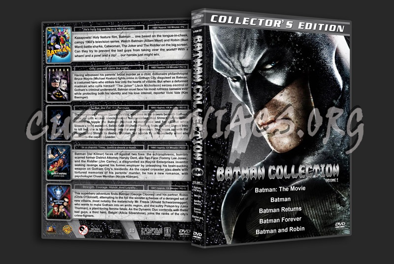Batman Collection - Volume 1 dvd cover