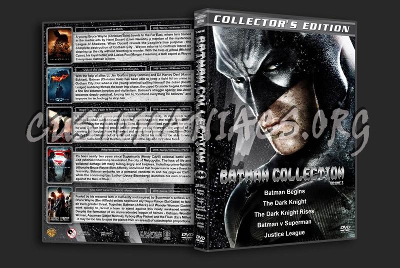 Batman Collection - Volume 2 dvd cover