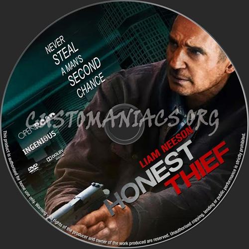 Honest Thief dvd label