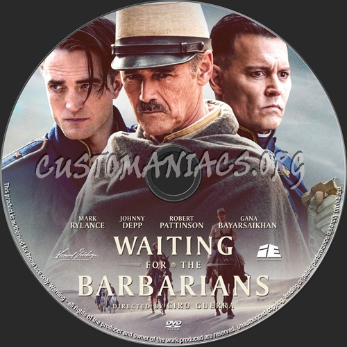 Waiting For The Barbarians dvd label